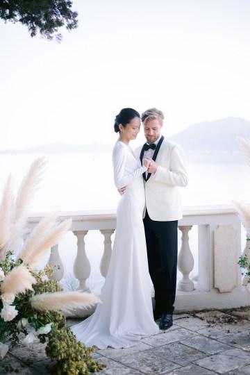 Modern Fashion-Forward Black White and Pink Greek Wedding Inspiration – Panos Demiropoulos 39