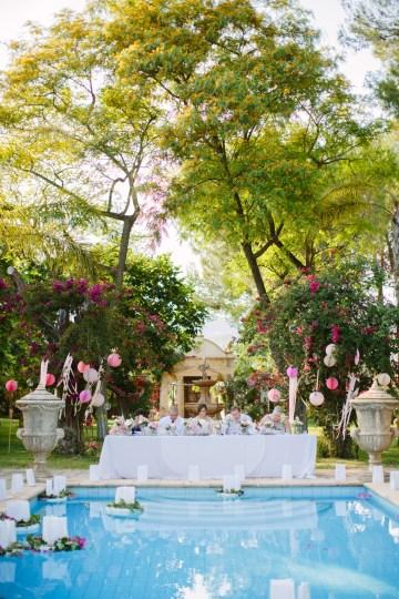 Posh Mallorca Pool Party Wedding at a Rustic Spanish Villa – Sandra Manas 39