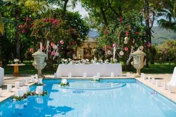 Posh Mallorca Pool Party Wedding at a Rustic Spanish Villa – Sandra Manas 50