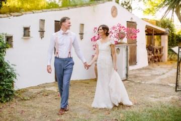 Posh Mallorca Pool Party Wedding at a Rustic Spanish Villa – Sandra Manas 56