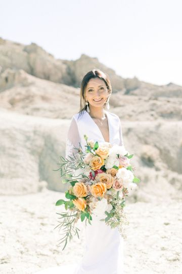 Rainbow Basin Desert Wedding Inspiration with Moon Stationery – Victoria Masai Photography 2