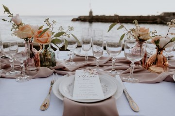 Rose Gold and Copper Cinque Terre Fall Wedding Inspiration – Di Luce e d Ombra – Greta Betton Wedding Planner 4