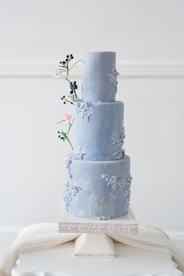 Something Blue Wedding Dessert and Cake Inspiration – Cipriano Palmer Photography 18
