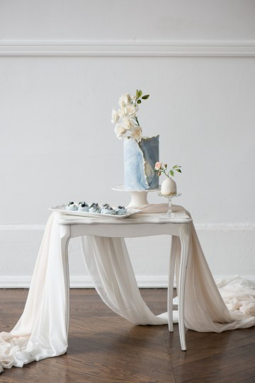 Something Blue Wedding Dessert and Cake Inspiration – Cipriano Palmer Photography 20