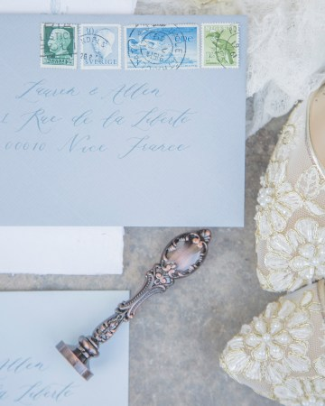 Autumn French Chateau Peach Wedding Inspiration – Szu Designs 15