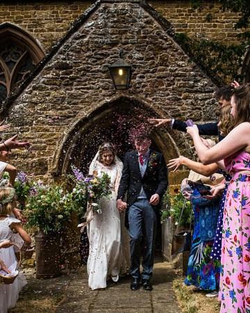 Charming English Wildflower Wedding At The Family Farm – Jonny Barratt Wedding Photography 47
