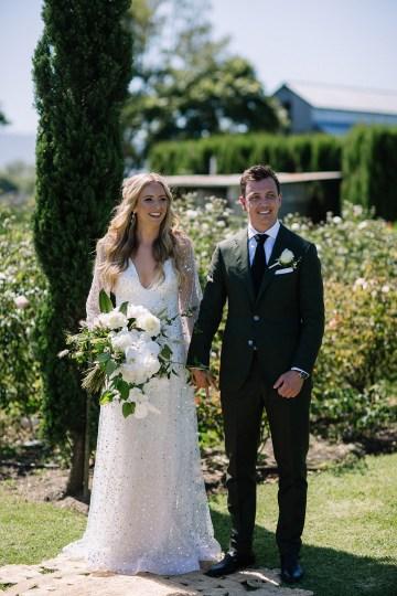 Chic Australian Garden Wedding with A Sparkling Wedding Dress – David Campbell Imagery 14