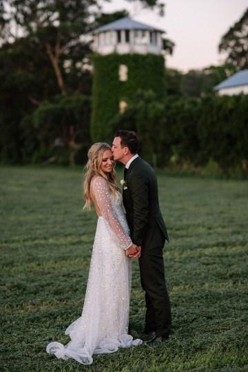 Chic Australian Garden Wedding with A Sparkling Wedding Dress – David Campbell Imagery 22