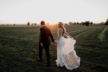 Chic Australian Garden Wedding with A Sparkling Wedding Dress – David Campbell Imagery 7