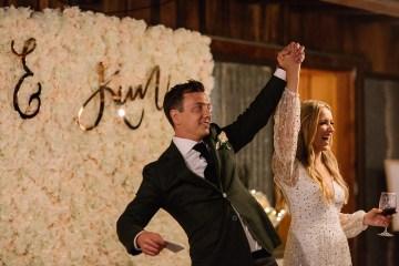 Chic Australian Garden Wedding with A Sparkling Wedding Dress – David Campbell Imagery 9