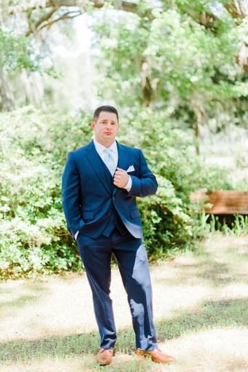 Elegant Blush Southern Plantation Wedding – Molliner Photography 20