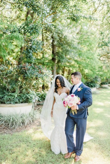 Elegant Blush Southern Plantation Wedding – Molliner Photography 28