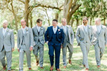 Elegant Blush Southern Plantation Wedding – Molliner Photography 47