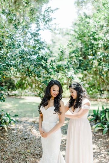 Elegant Blush Southern Plantation Wedding – Molliner Photography 8