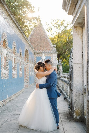 Historical Blue-tiled Palace Destination Wedding in Portugal – Jesus Caballero Photography 17