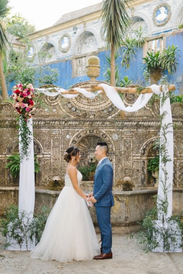 Historical Blue-tiled Palace Destination Wedding in Portugal – Jesus Caballero Photography 19
