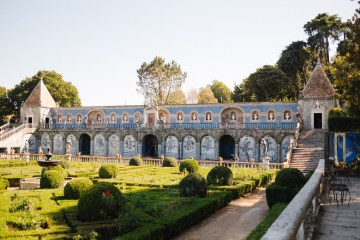 Historical Blue-tiled Palace Destination Wedding in Portugal – Jesus Caballero Photography 26