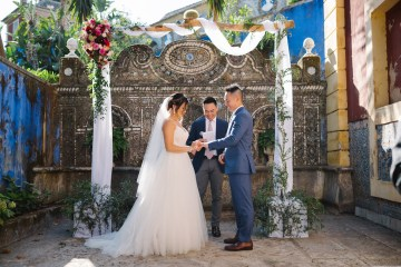 Historical Blue-tiled Palace Destination Wedding in Portugal – Jesus Caballero Photography 33