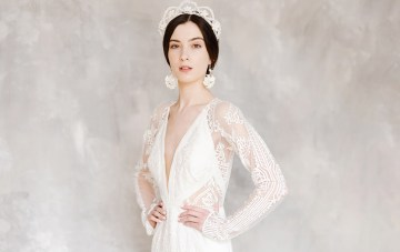 All-White Wedding Inspiration For The Modern & Cool Princess Bride