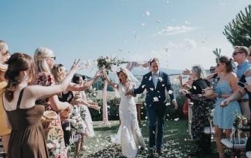 Classic & Romantic Tuscan Destination Wedding