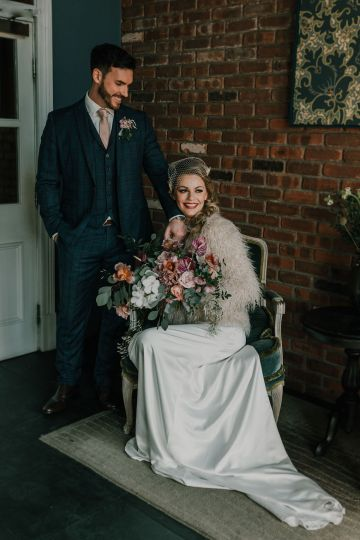 Vintage Glamour Wedding Inspiration in Manchester – Gail Secker Photography 10