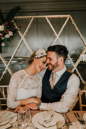 Vintage Glamour Wedding Inspiration in Manchester – Gail Secker Photography 35