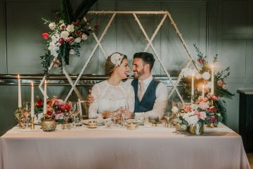 Vintage Glamour Wedding Inspiration in Manchester – Gail Secker Photography 5