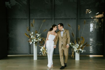 Chic Fall Loft Wedding Inspiration from Toronto – Shannon Robbins Photography – June Bloom Events 10