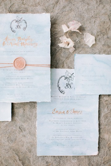 Gorgeous Coastal Ireland Wedding Inspiration – White Cat Studio – Petal and Twine 3