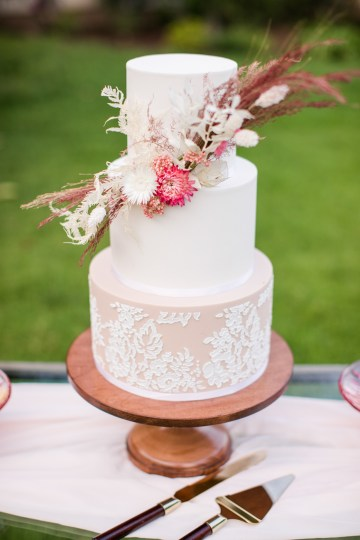 Pink Boho Farm Wedding Inspiration filled with Pretty Details – Carrie McCluskey Photo 22