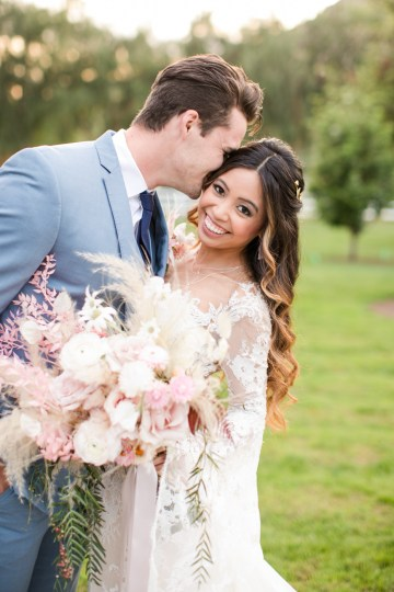 Pink Boho Farm Wedding Inspiration filled with Pretty Details – Carrie McCluskey Photo 26