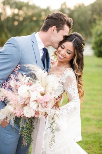 Pink Boho Farm Wedding Inspiration filled with Pretty Details – Carrie McCluskey Photo 27