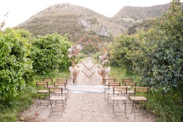 Pink Boho Farm Wedding Inspiration filled with Pretty Details – Carrie McCluskey Photo 34