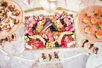 Pink Boho Farm Wedding Inspiration filled with Pretty Details – Carrie McCluskey Photo 43