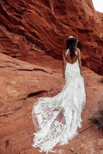 Rue de Seine Moonrise Canyon Wedding Dress Collection – Dallas Gown 8