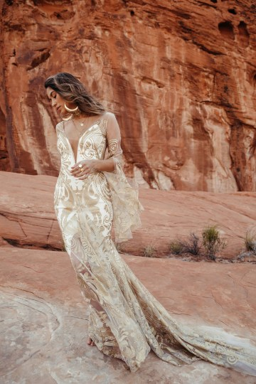 Rue de Seine Moonrise Canyon Wedding Dress Collection – Dolly Gown 6