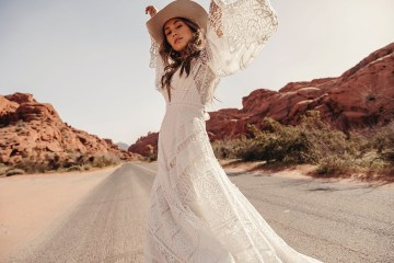 Rue de Seine Moonrise Canyon Wedding Dress Collection – Harvest Moon Gown 2