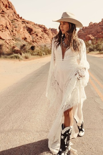 Rue de Seine Moonrise Canyon Wedding Dress Collection – Harvest Moon Gown 4