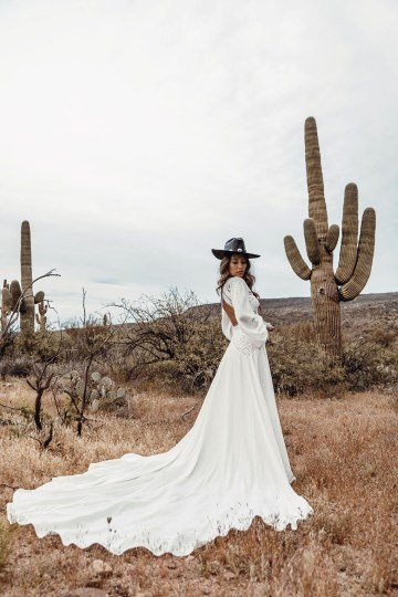 Rue de Seine Moonrise Canyon Wedding Dress Collection – Presley Gown 1
