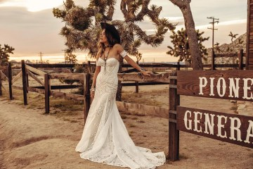 Rue de Seine Moonrise Canyon Wedding Dress Collection – Tallulah Gown 1