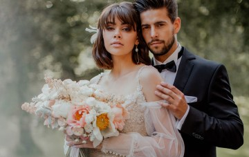 Ethereal Secret Garden Polish Wedding Inspiration