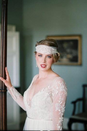 Glamorous Downton Abbey Wedding Inspiration – Cooper Photography 34