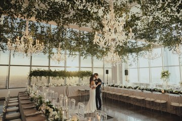 Los Angeles Rooftop Wedding with Incredible Views – Tyler Branch – CCL Weddings and Events 12