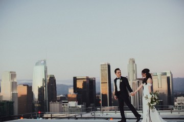 Los Angeles Rooftop Wedding with Incredible Views – Tyler Branch – CCL Weddings and Events 14