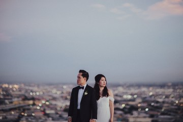 Los Angeles Rooftop Wedding with Incredible Views – Tyler Branch – CCL Weddings and Events 16