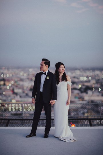 Los Angeles Rooftop Wedding with Incredible Views – Tyler Branch – CCL Weddings and Events 47