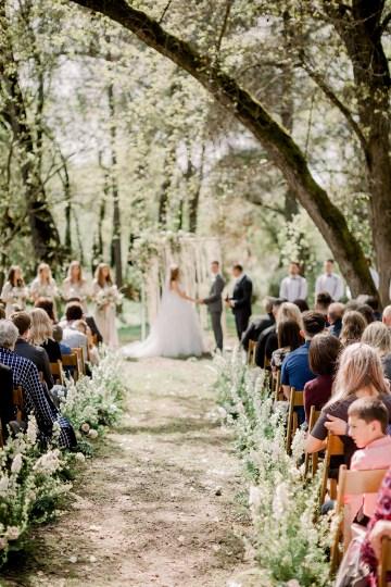 Whimsical Floral-Filled Woodland Wedding – Walnut and Main – Irina Turkova Photography 50