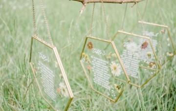 A Botanical-Inspired Mood Board For Spring Weddings