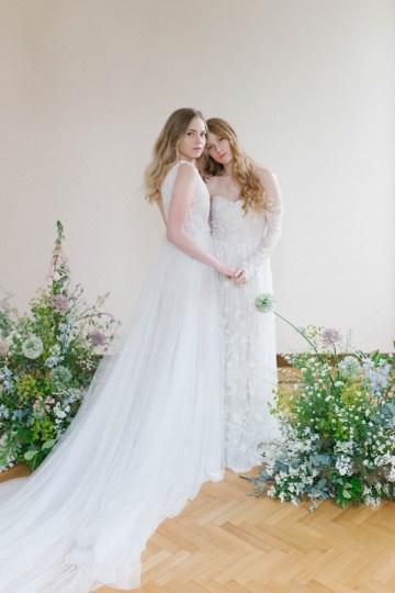 Artistic Renaissance Botticelli Same Sex Wedding Inspiration – Irene Fucci 21