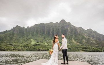 A Spiritual Author's Breathtaking Multicultural Hawaiian Wedding